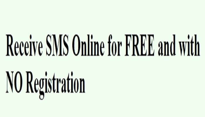 Receive SMS Online for FREE and with NO Registration:免费多国手机号码的简讯接收服务